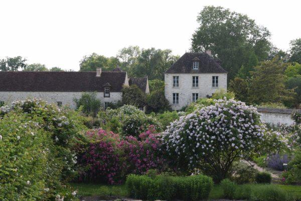 Château vu du potager (Copier)